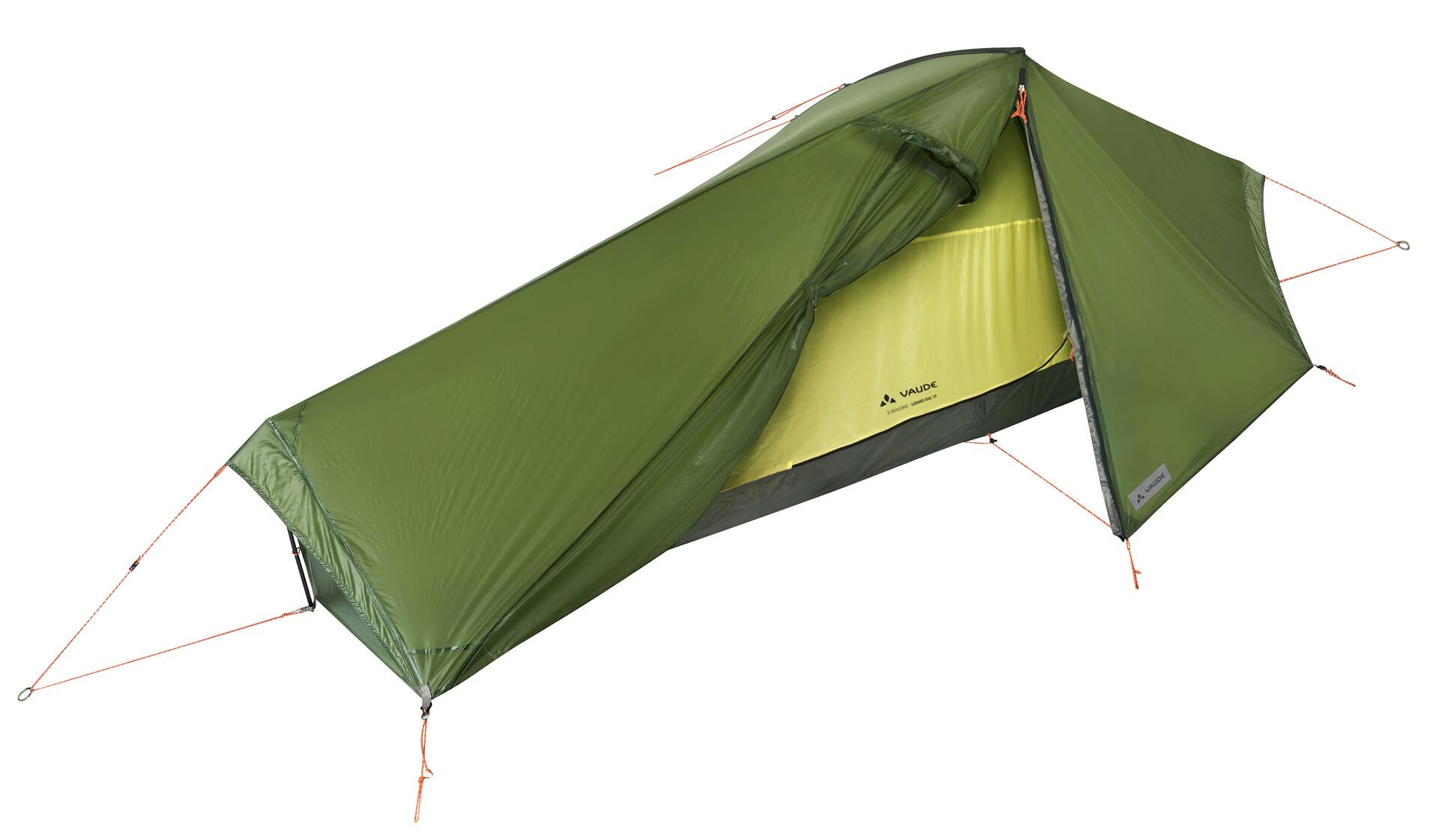 VAUDE Lizard GUL Tent 1P green at Addnature.co.uk